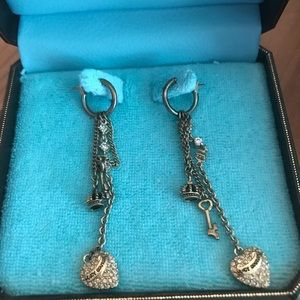 NWT Juicy Couture dangle drop earrings